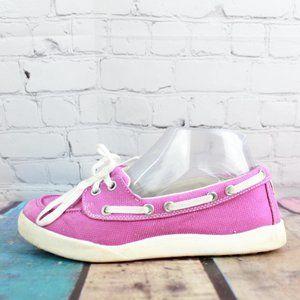 LL BEAN 2 Eyelet Slip On Boat Deck Shoes Size 6